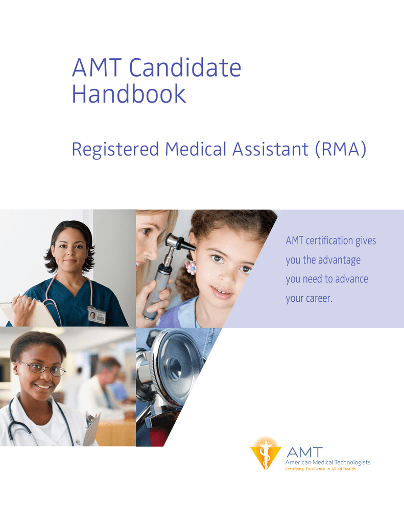 AMT Candidate Handbook - American Medical Technologists