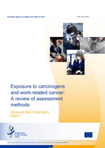 Exposure to carcinogens and work-related cancer - EU-OSHA