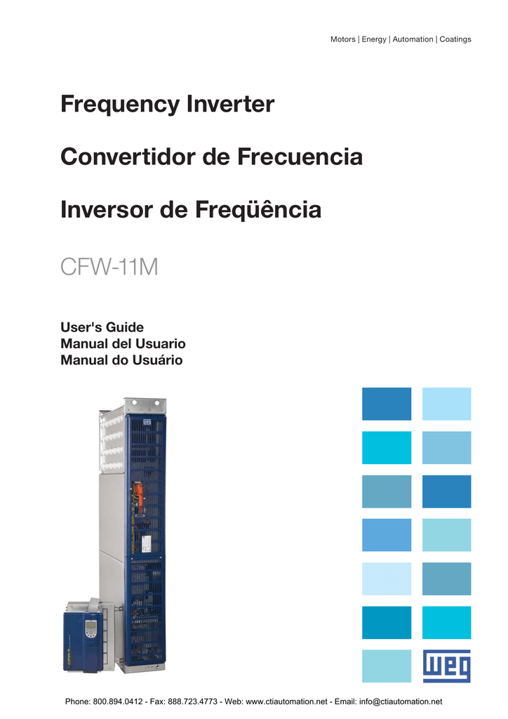 Weg cfw 11m variable frequency drives users guide publicscrutiny Images