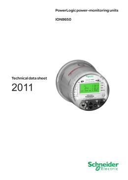 powerlogic ion8600 installation guide ion8650 powerlogic power monitoring units