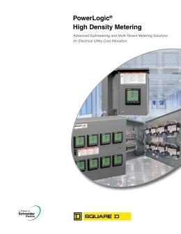 powerlogic ® high density metering system 4 powerlogic® high density metering