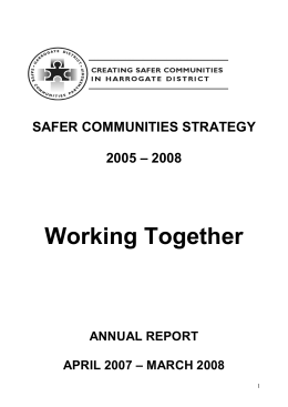 Working Together - Council Committee Information Pages