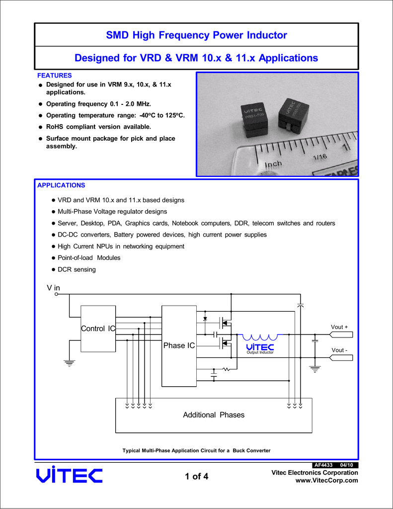 SMD High Frequency Power Inductor