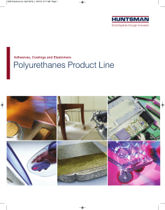 Polyurethanes Product Line