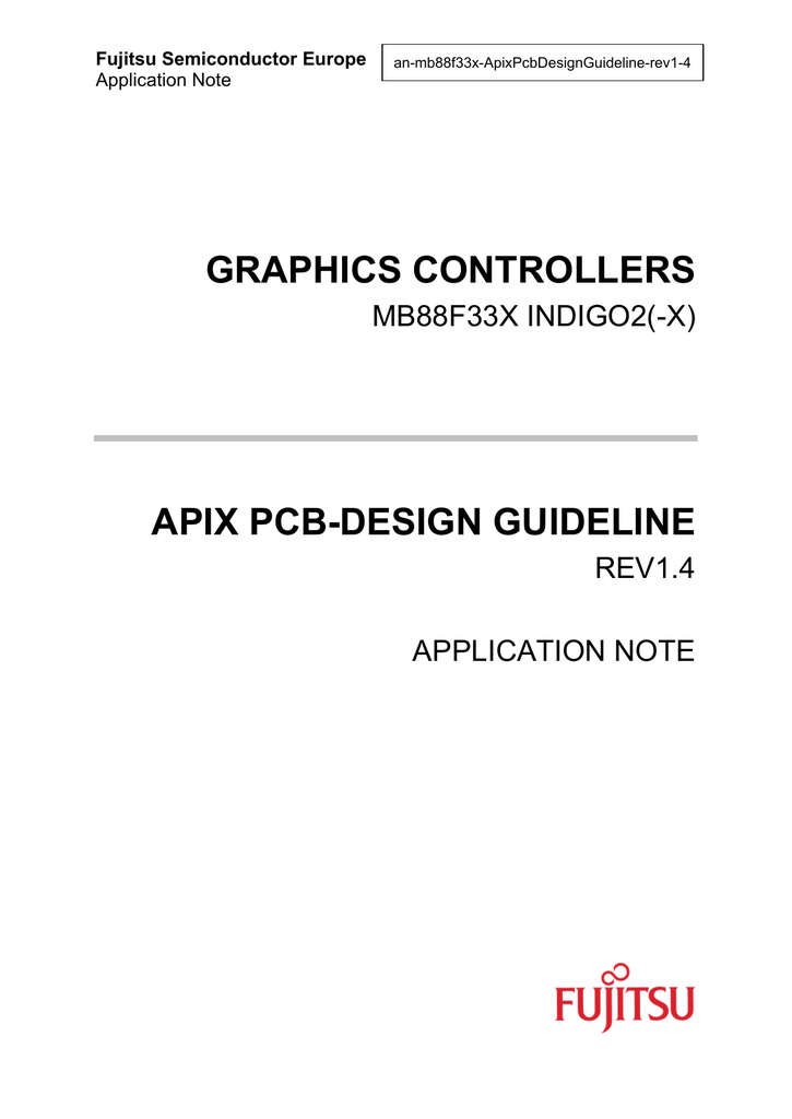 apix pcb-design guideline