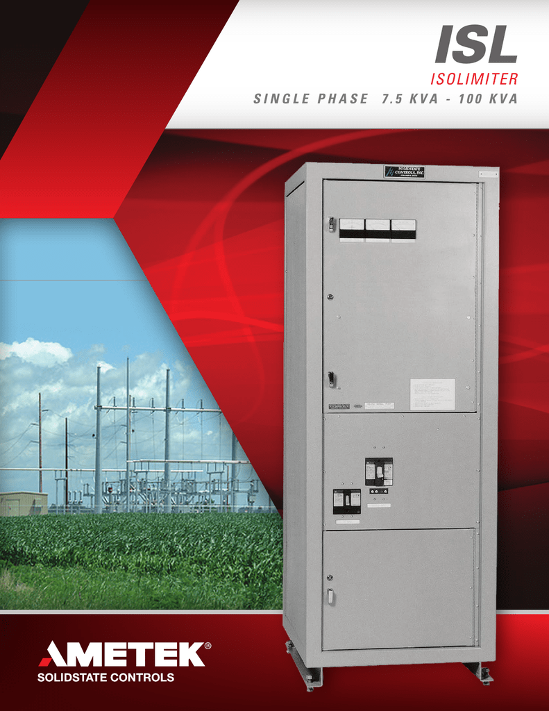 Isl Data Sheet Ametek Solidstate Controls Wiring Diagram