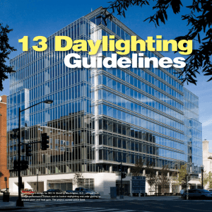 13 Daylighting Guidelines from BD+C Magazine