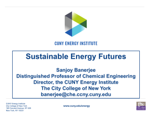 Sustainable Energy Futures