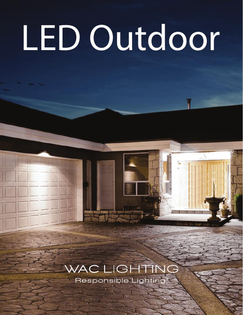 Led Outdoor Wac Lighting Wiring Diagram