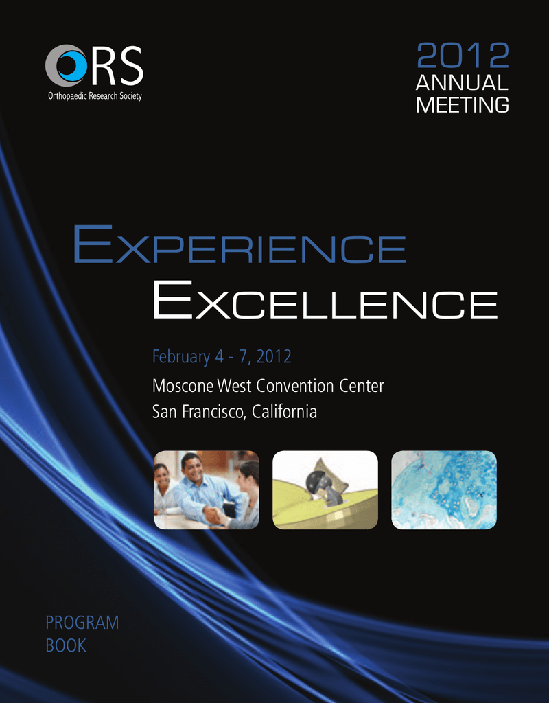 Alyson Eckmann Nude experience excellence - orthopaedic research society