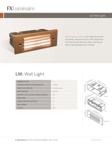 LM: Wall Light