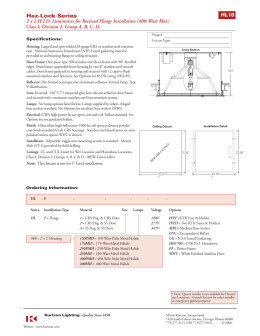 Haz-Lock Series 2 x 2 H.I.D. Luminaires for Recessed Flange  sc 1 st  studylib.net & Kurtzon Lighting azcodes.com