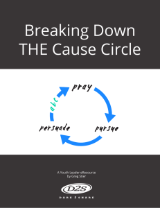 Breaking Down THE Cause Circle