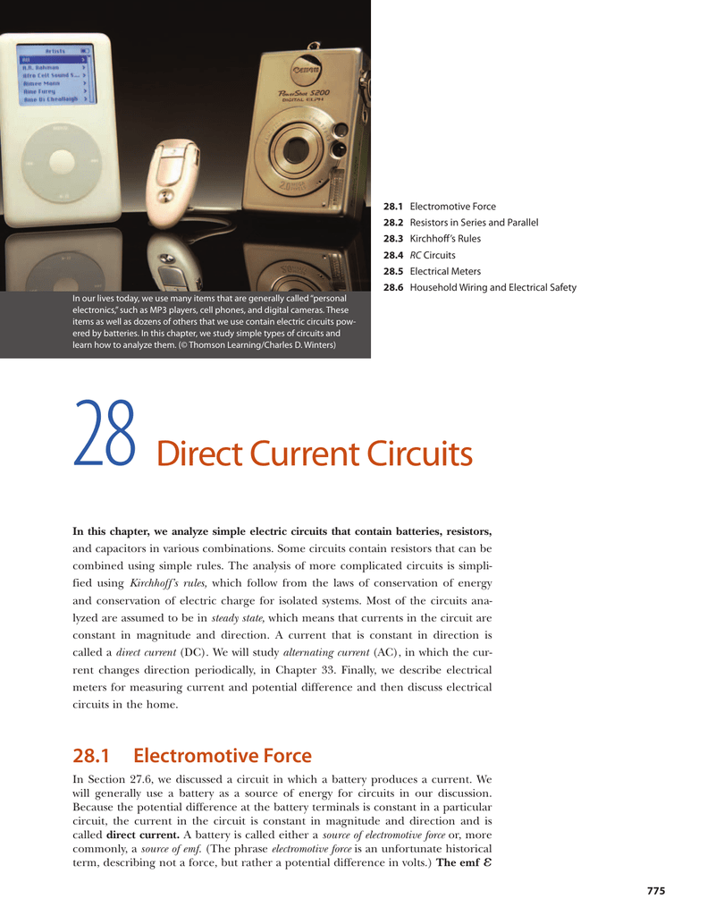 Incredible Direct Current Circuits Wiring Digital Resources Funapmognl