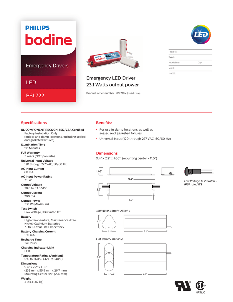 Bodine Emergency Driver Led Wiring Diagram Schematic Diagrams Motor Bsl722 Phillips House Symbols U2022 Fluorescent Light Fixture