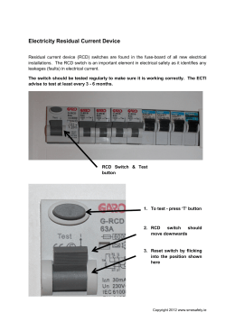 E25 residual current device rcd electricity residual current device publicscrutiny Gallery