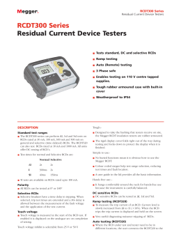 Rcdt300 series residual current device testers 0185564241 1e280010f002892177f062f37e655783 260x520g publicscrutiny Gallery