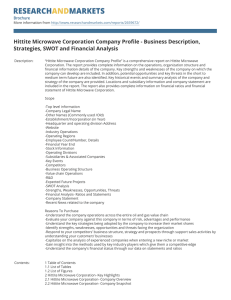 Hittite Microwave Corporation Company Profile