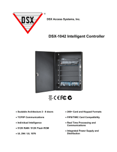 DSX-1042 2 Door Package - DSX Access Systems, Inc.