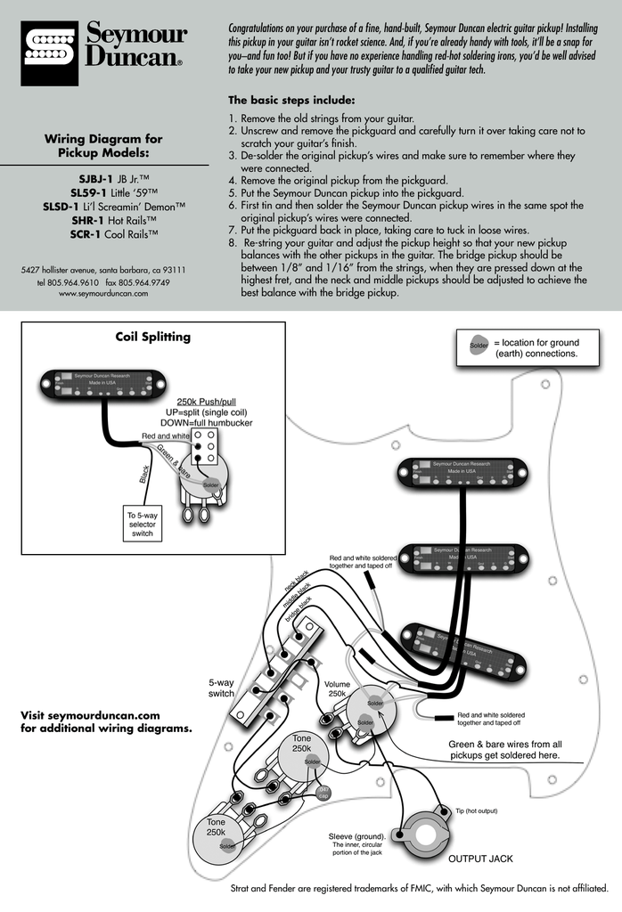 Hot Rails Pickup Wiring Diagram Free Download • Oasis-dl.co