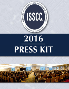 © COPYRIGHT 2016 ISSCC—D - International Solid