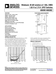 Data Sheet - Electrocomponents