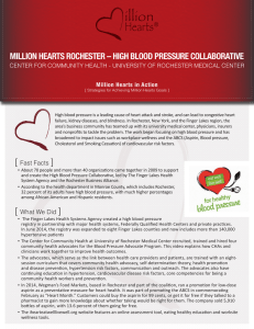 million hearts rochester – high blood pressure collaborative