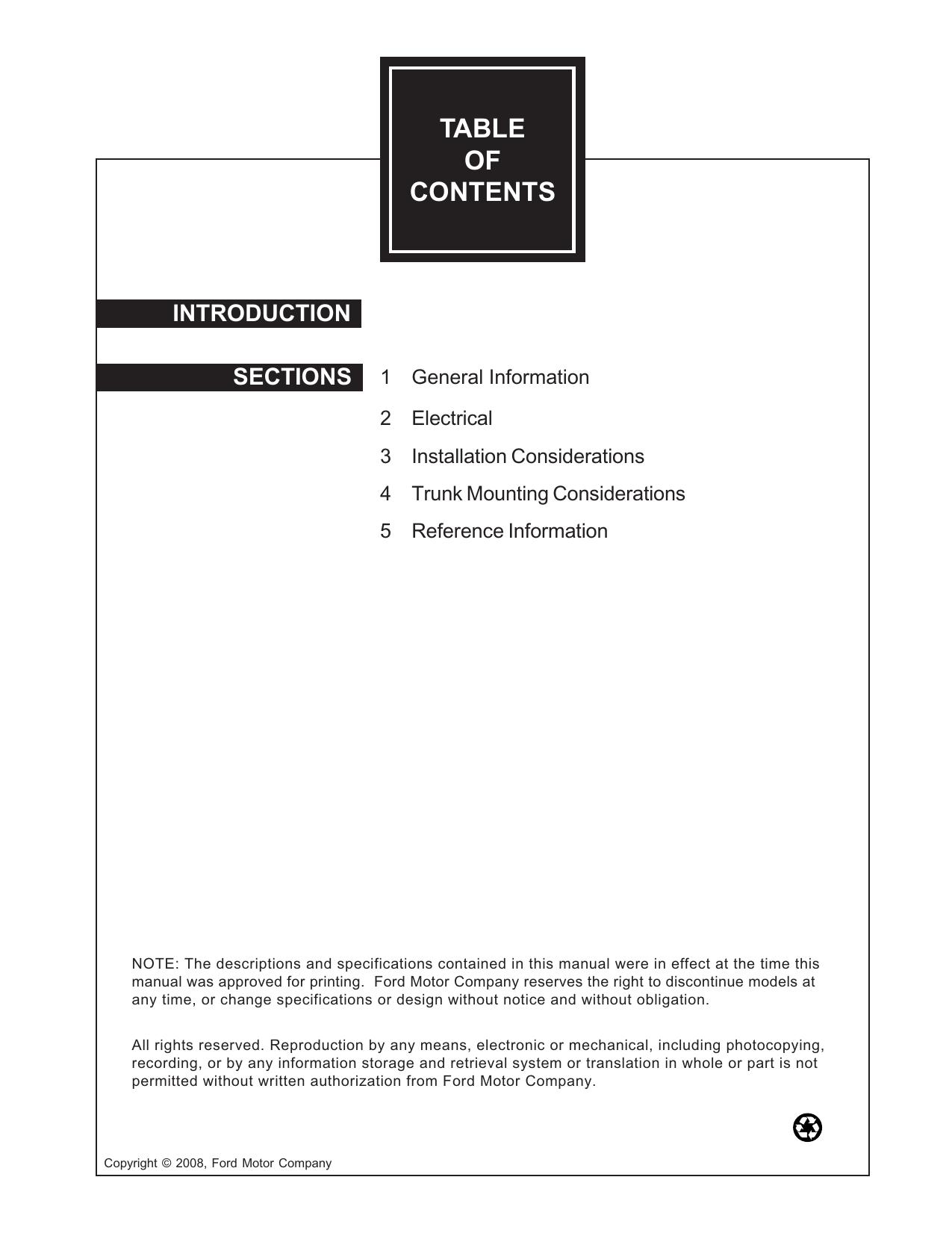 Table Of Contents Police Interceptorcom 1 9 Sefi Engine Diagram