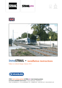 innoSTRAIL - installation instructions
