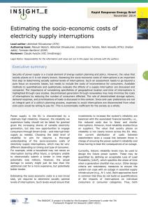 Estimating the socio-economic costs of electricity