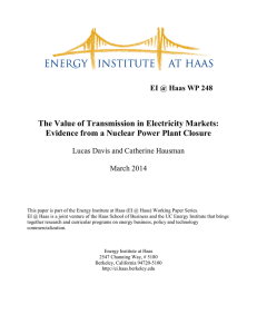 The Value of Transmission in Electricity Markets: Evidence from a