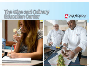 The Wine and Culinary Education Center