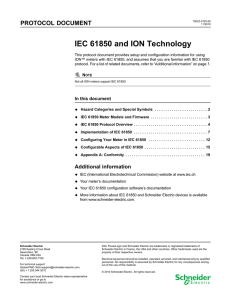 IEC 61850 and ION technology