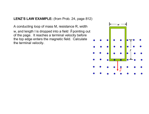 31. Examples using Faraday`s Law. Induced emf and Electric Field