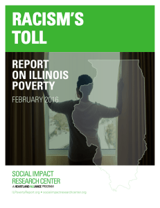 racism`s toll - Report on Illinois Poverty