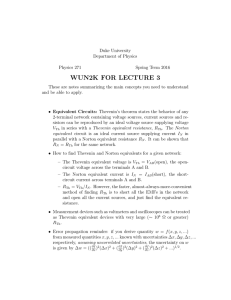 wun2k for lecture 3 - Duke Physics