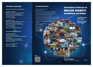 International Conference on Nuclear Security