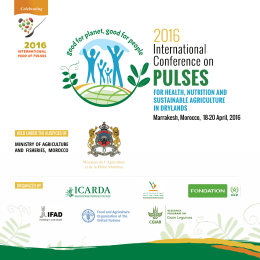 Conference on Pulses
