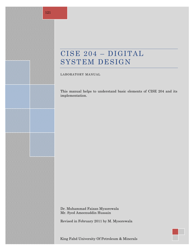 Cise 204 Digital System Design Lab Manual Edgetriggered 555 Monostable Multivibrator