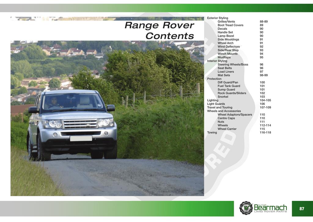 Genuine New RANGE ROVER BONNET BADGE Front Brunel Grey L322 2002-2009 SE HSE