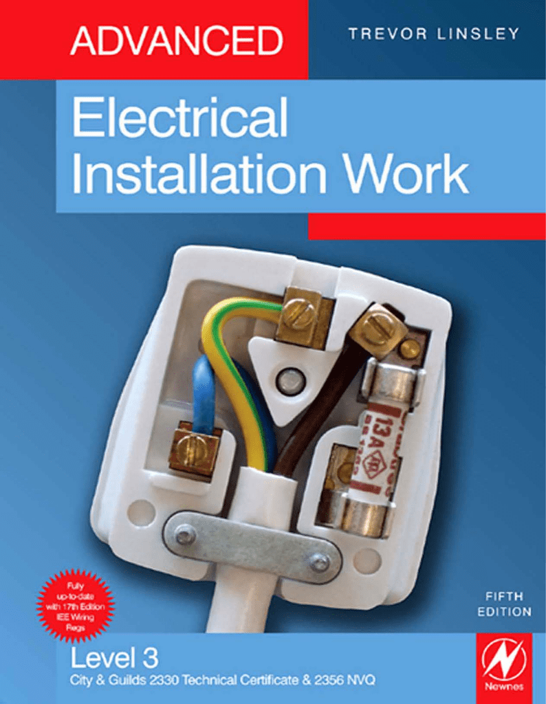 Advanced Electrical Installation Work Fifth Edition Halide Ballast Wiring Diagram On A 240 Volt 3 Wire Outlet
