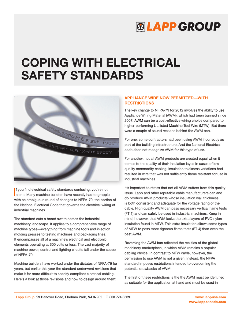 Different Types Of Electrical Wiring Buy Fire Resistant Wire