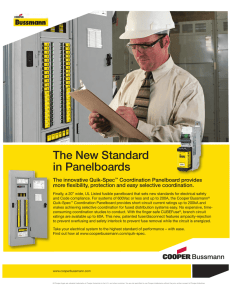 The New Standard in Panelboards