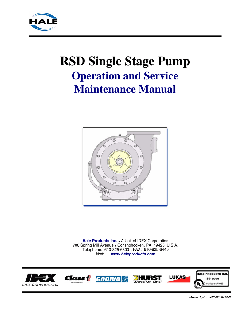 Hale Pump Pto Switch Wiring Diagram Starting Know About For Images Gallery Rsd Operation Service Manual 029 0020 Rh Studylib Net