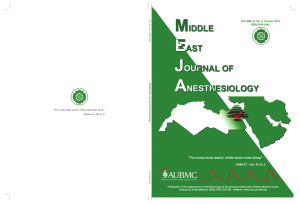 VOLUME 23, No. 3, October 2015 ISSN 0544-0440