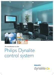 Philips Dynalite control system