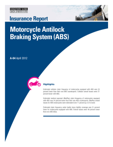 Motorcycle Antilock Braking System (ABS)