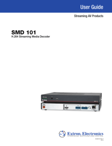SMD101 User Guide