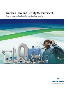 emerson flow and density measurement Dp flow gas flow measurement explore in gas flow measurement, the density of the gas emerson process management rosemount measurement 8200 market boulevard.