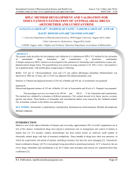 International Journal of Pharmaceutical Science and Health Care